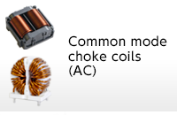 Common mode choke coils (AC)